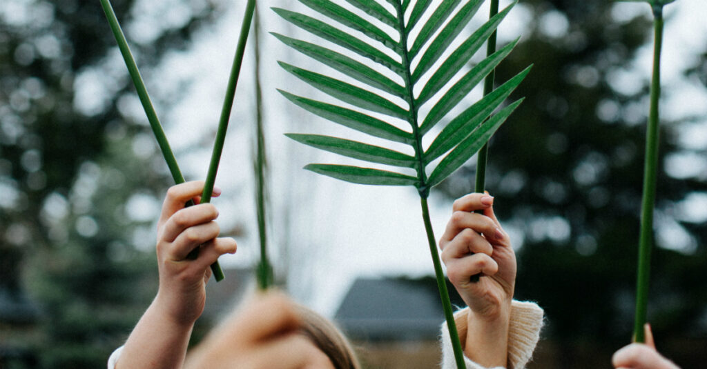 Triumphant Prayers for Palm Sunday