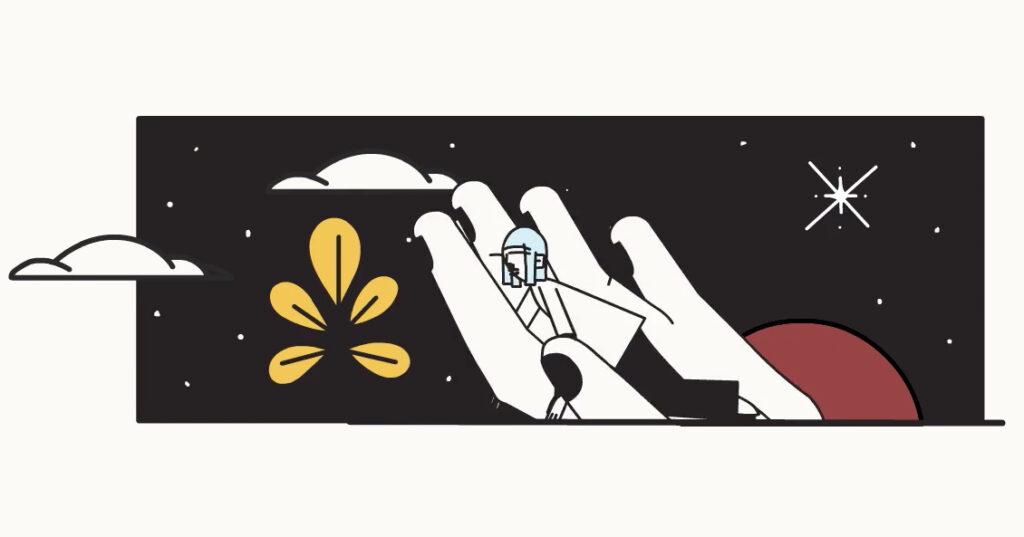 Animación de la adorada oda a la bondad de Naomi Shihab Nye