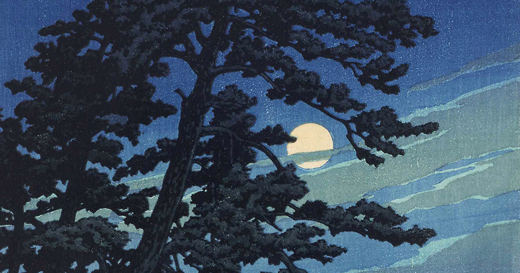 De los árboles, la ternura y la luna: impresionantes grabados en madera japoneses de Hasui Kawase de las décadas de 1920 y 1950