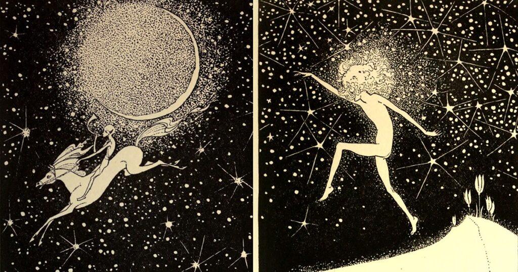 Paisajes oníricos de Dorothy Lathrop: inquietantes ilustraciones centenarias de poemas de hadas de la mujer que se convirtió en la primera en ganar la medalla Caldecott