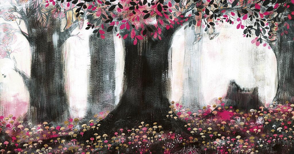 El árbol en mí: una meditación lírica ilustrada sobre la raíz de nuestra fuerza, creatividad y conexión