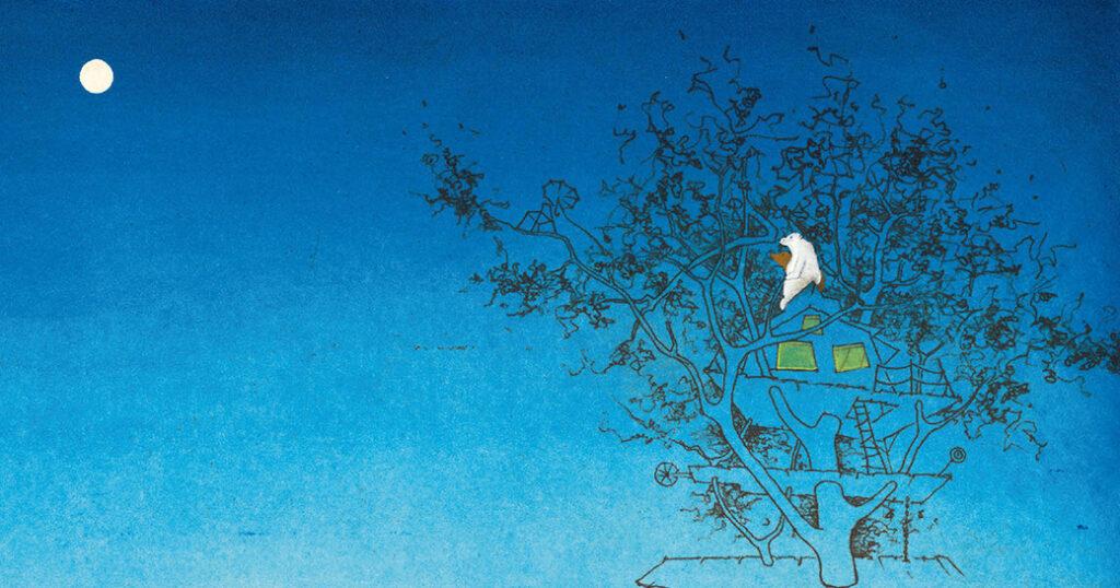 La casa del árbol: una tierna historia sin palabras de un dúo de artistas holandés padre-hija