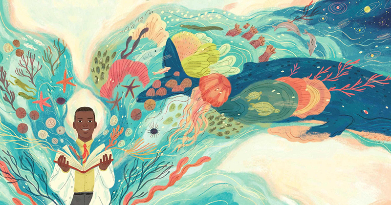 La vasta maravilla del mundo: un homenaje ilustrado a la vida pionera y la ciencia que redefine la vida de Ernest Everett Just