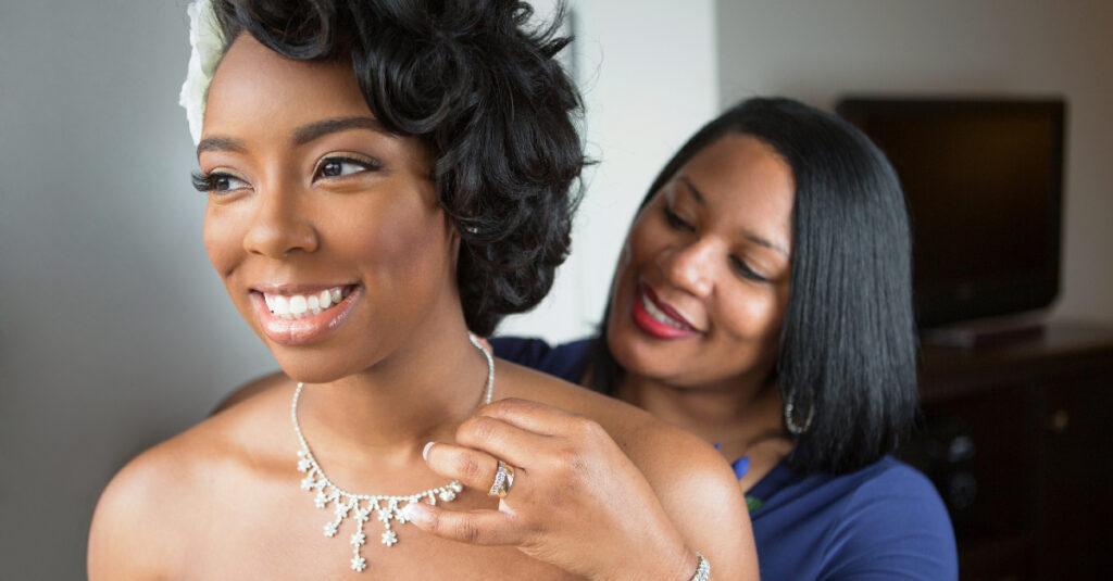 5 oraciones del corazón de una madre por su hija, la novia