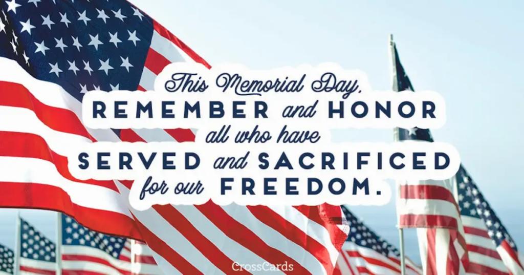 7 oraciones del Día de los Caídos para honrar y recordar