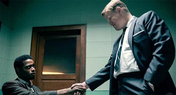 LaKeith Stanfield como O'Neal y Jesse Plemons como el agente del FBI Mitchell